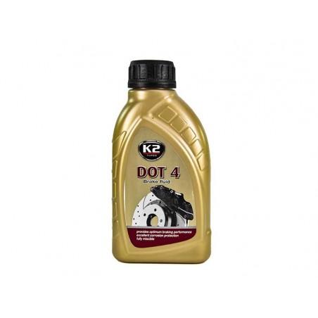 Тормозная жидкость K2 РосДОТ-4 Synthetic 500 мл