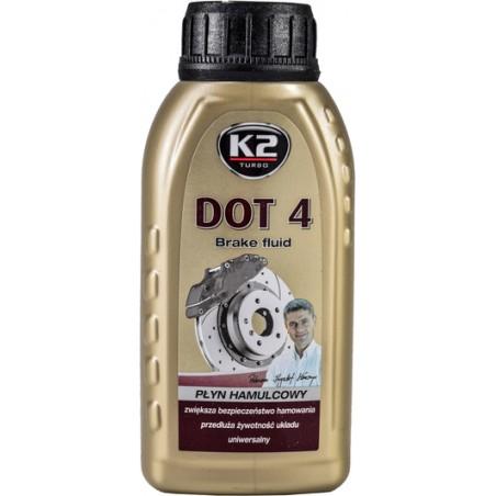 Тормозная жидкость K2 DOT 4 T124 250 мл