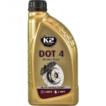 Тормозная жидкость K2 DOT 4 T108 1л