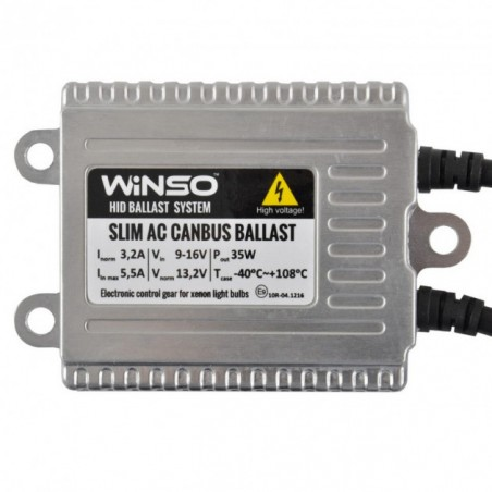 Блок розжига Winso Slim AC Canbus 12V 35W