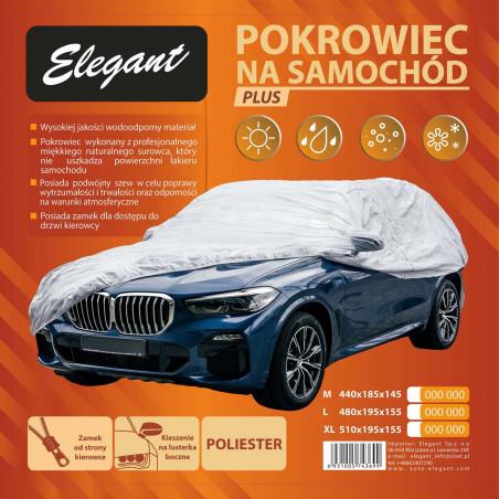 Автомобильный тент Elegant M серый 100271