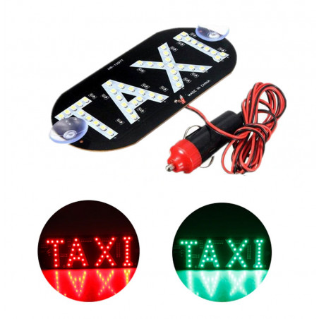 Подсветка TAXI Razzar зеленый/красный