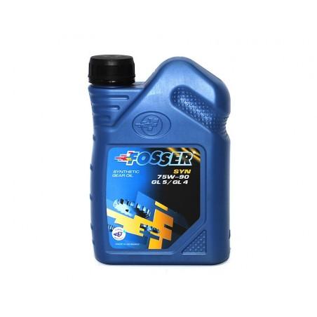 Трансмиссионное масло FOSSER 75W-90 Syn GL4/GL5 1л