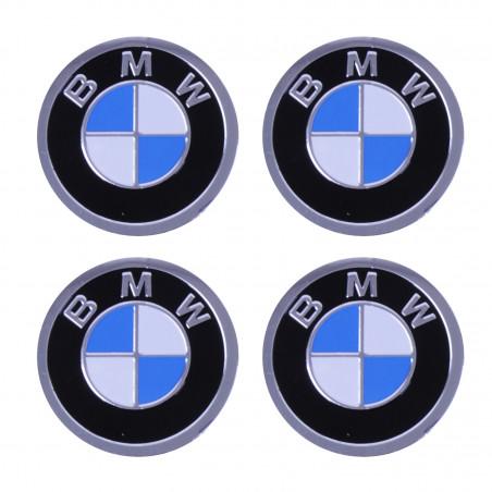 Наклейка на колпаки BMW Черный