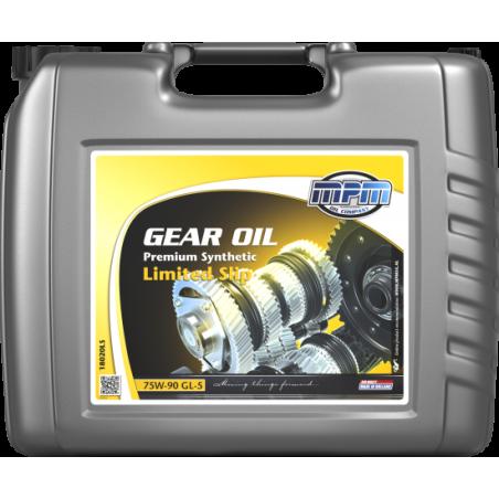 Трансмиссионное масло MPM OIL 75W-90 Premium Synthetic Limited Slip GL-5 20л