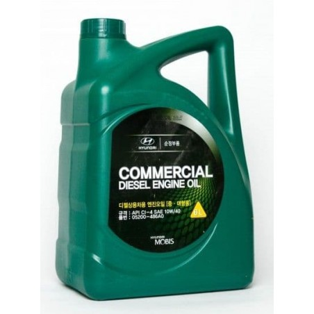 HYUNDAI / KIA Commercial Diesel 10W-40 6л