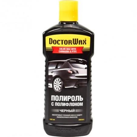 Полироль HI-GEAR DoctorWax черная DW8401 300мл