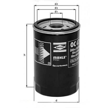 Масляный фильтр MAHLE OC486