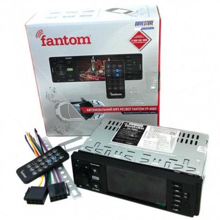 1DIN Fantom FP-4060 Black/Green