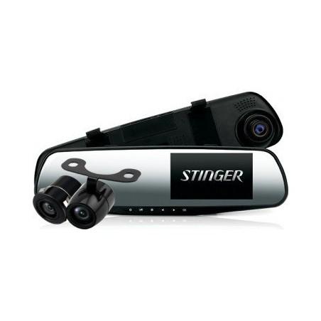 Зеркало с видеорегистратором Stinger DVR-M489FHD cam