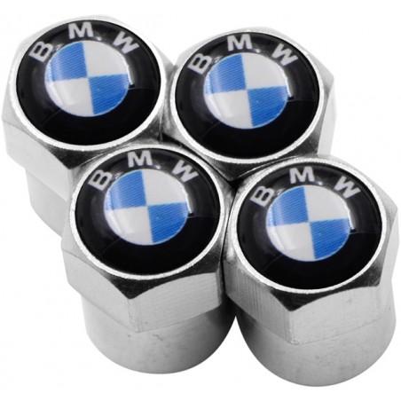 Колпачок на ниппель хром модельный 'BMW' (4 шт)