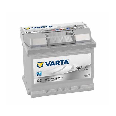 АКБ VARTA 6СТ-54 SILVER dynamic (C30)