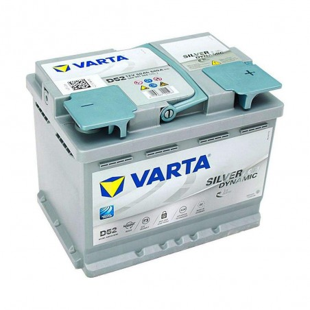 АКБ VARTA 60Ач Start Stop plus AGM D52