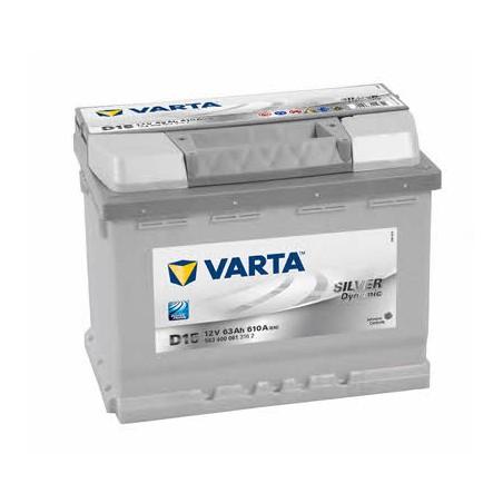 АКБ VARTA 6СТ-63 SILVER dynamic (D15)