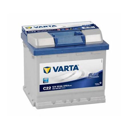 АКБ VARTA 6СТ-52 BLUE dynamic (C22)