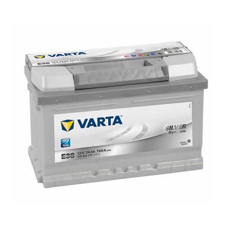 АКБ VARTA 6СТ-74 SILVER dynamic (E38)