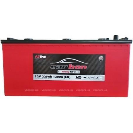 Автомобильный аккумулятор CARBON 6СТ-225 Аз L CRB225-3 EN1300 А