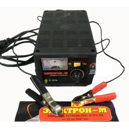 Зарядное устройство для аккумулятора Электрон-М 6А