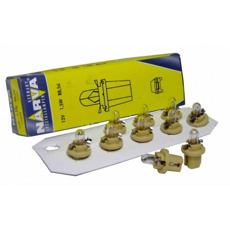 Галогенная лампа Narva yellow 17050 BAX 12V