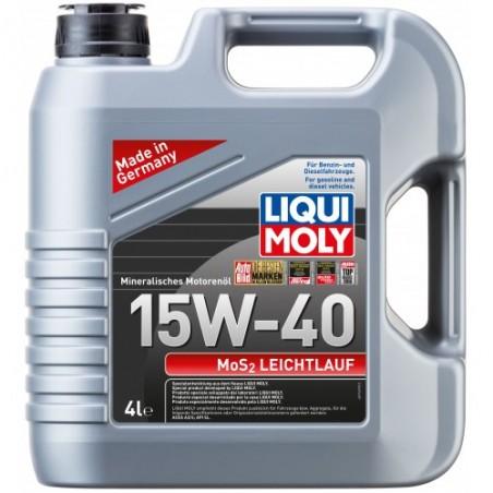 LIQUI MOLY MoS2 Leichtlauf 15W-40 4 л