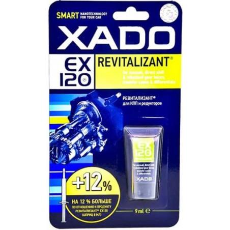 Присадка к трансмиссионному маслу XADO Ревитализант EX120 для КПП и редукторов 9мл