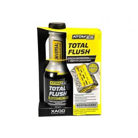 Промывка масляной системы XADO Atomex TotalFlush 250 мл